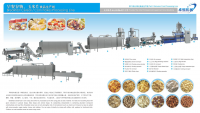 Full automatic breakfast cereals Corn Flakes Production Line