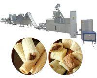 puffed corn core filled snack food making machine