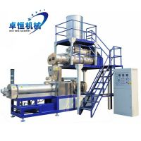 High capacity twin screw extrusion modified starch production line