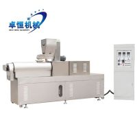 2017 High Efficiency Floating Fish Feed Extruder Machine