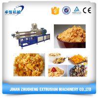 Multifunctional corn flakes machine processing line