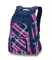 Plaid Sublimation Printing Backpack