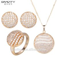 TZXG0090 Gravity fine design Unique Elegant luxury saudi dubai imitation 24k gold plated jewellery sets