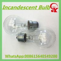 110V 220V 40w 60w 75w 100w 150w 200w clear incandescent bulb E27 B22 General Lighting bulbs