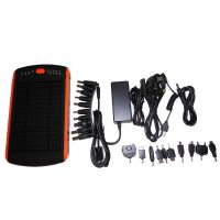 High Capacity 23000mah Laptop Solar Powerbank 23000mah power bank Fast Charging Solar Powerbank 5v 12v 16v 19v Dual USB