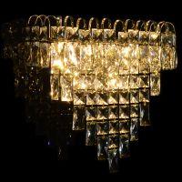 Classic crystal wall light 110v 220v 12v 24v Wall sconce glasses parts decorative vintage crystal wall lamp