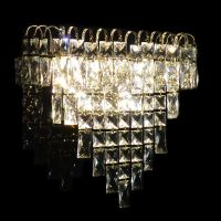 Classic crystal wall light 110v 220v 12v 24v Wall sconce glasses parts decorative vintage crystal wall lamp