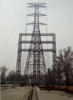Power transmission steel tube tower