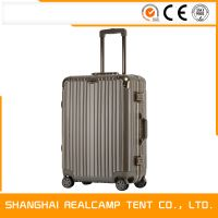 """High Recommend Good Quality Hot Selling 20""""24""""28"""" Aluminum Frame Suitcase"""