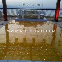 Gold LED Dance Floor