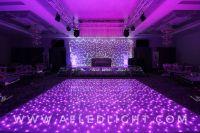 Silver LED Dance Floor