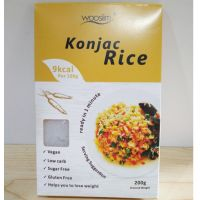 Natural konjac Gum Konjac Rice Instant Rice Shirataki