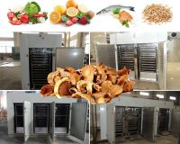 304 Stainless Steel Hot Air Electric Heating Industrial Fruit Drying Machine