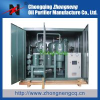 Double-Stage Vacuum Insulating Oil Regeneration Purifier Series ZYD-I T