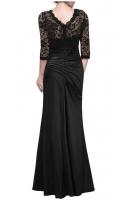 2018 Women fashion comfortable sexy lace long dress