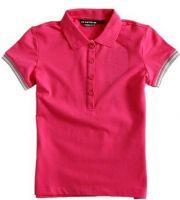 Men 100%cotton fashion knitted Polo shirt