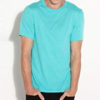 2018 Men comfortable soft cotton solid color  fashion T-shirts