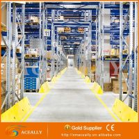 High warehouse adjusted heavy duty pallet racking systems from Chinese supplier
