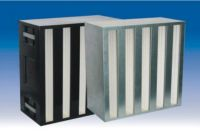 Cassette HEPA filter with ultra-high