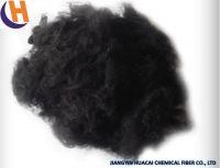 1.5D Black Polyester Staple Fiber