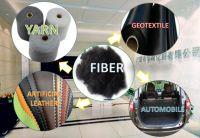 2.5D*51MM Black polyester staple fiber
