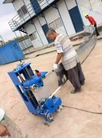standing seam curving machine metal roof curving machine standing seam roof panel cuving machine bending machine crimping curving machine curving machine for standing seam profile