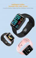 P80 Smart watch Women Bracelet Fashion Sports IP68 Waterproof Full Touch Heart Rate Fitness Tracker Smartwatch Men