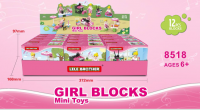 Educational building block, lego type block, block, brick
