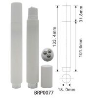 8ml Cosmetic Liquid essence tube with roll on balls