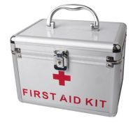 Aluminum medical box First aid kit