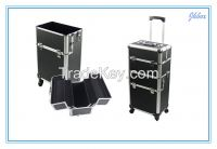 JH517 Factory price trolley case Aluminum trolley case suitcase box