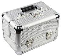 5# Hot sale Aluminum makeup vanity cosmetic case