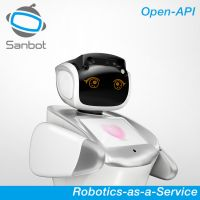 Sanbot Elf cloud-brained facial recognition artificial intelligent service robot