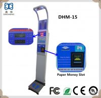 DHM-15 Ultrasonic Height and Weight BMI Body Scale with printer