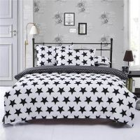 Cheap 3PCS and4 PCS Light Weight Reversible Microfiber Polyester Duvet Cover Quilt Cover and Bed Sheet Bedding Set