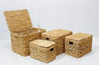 Best selling water hyacinth trunk for home furniture-SD7984A-4NA