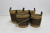 Hot item seagrass storage baskets for home furniture - BH4344A-4MC