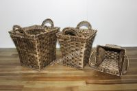 New item water hyacinth storage baskets - SD4116A-3BR05