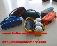 sell outdoor team ball petanque set toy ball sport ball with nylon case