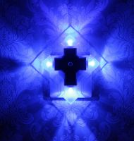 LED Cross Night Light (Arrow Shape) with Auto Sensor
