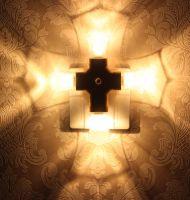 LED Cross Night Light