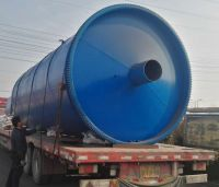 PP, PE Plastic Recycling Pyrolysis Plant to fuel oil