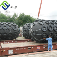 Dia3.3m L6.5m ship yokohama pneumatic rubber fender