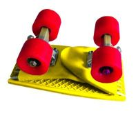 Folding pennyboard - Yellow