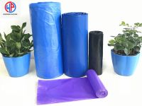 Wholesale LDPE/HDPE Plastic garbage bags