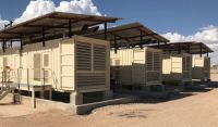 9600 KW Containerized Diesel Generator Plant