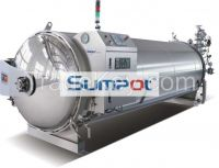 food industrial automatic autoclave water spray retort machine