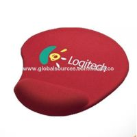 2017 hot sale gel mouse pads with logo and brand silicone mouse wrist rest