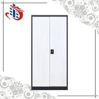 High quality library uesd furniture 2 door metal cabinet steel shelves book cabinet