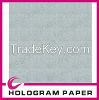 75% cotton & 25% linen paper with custom watermark and security thread